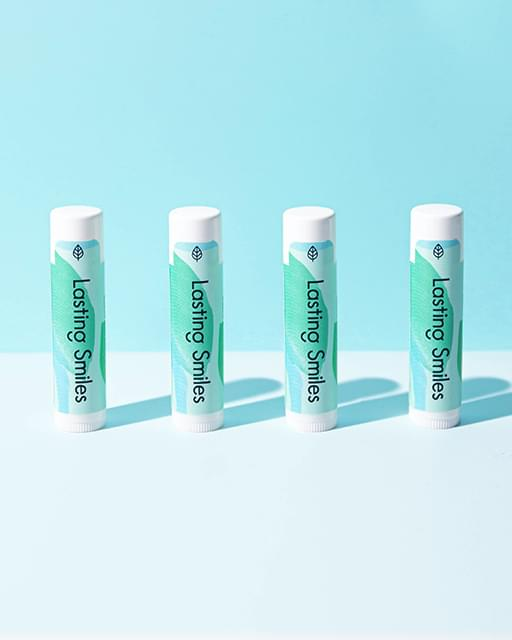 Lasting Smiles Peppermint Creme Lip Balm